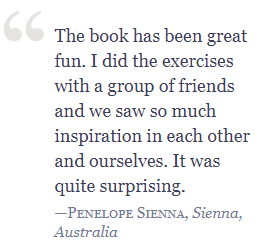 Testimonial Sienna Writing the Artist Statement: Revealing the True Spirit of Your Work
